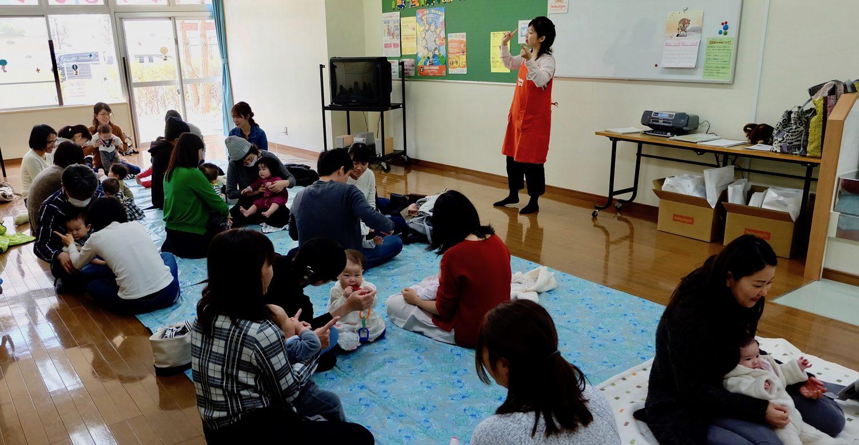 豊洲児童館様 ベビーサイン体験会